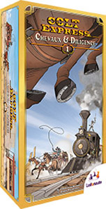 Colt Express Chevaux and Diligence - 1
